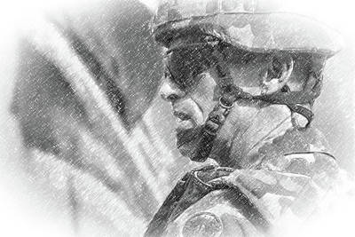 Photograph - Australian Soldier In Afghanistan by SR Green