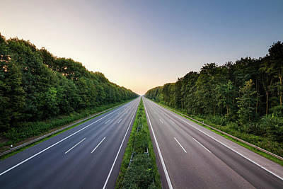 Photograph - Autobahn by Jorg Greuel
