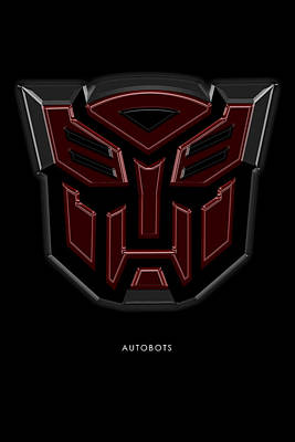 Digital Art - Autobots by Eric Christopher Jackson