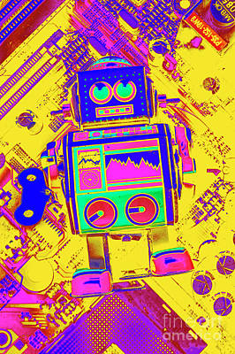 Pop Art Royalty-Free and Rights-Managed Images - Automated nostalgia by Jorgo Photography - Wall Art Gallery