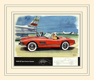 Photograph - Automotive Art 268 by Andrew Fare