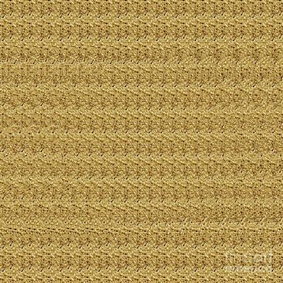 Digital Art - Autostereogram Rotavirus Sepia by Russell Kightley