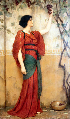Painting - Autumn 1900 by John William Godward