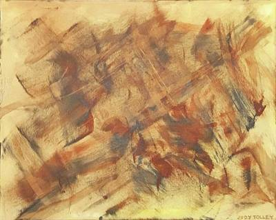 Painting - Autumn Abstract by Judy Tolley