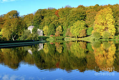 Photograph - Autumn Across The Lake by Colin Rayner