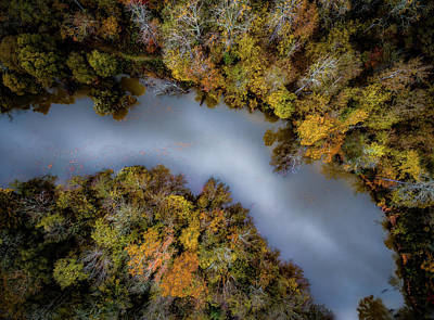 Christmas Christopher And Amanda Elwell Rights Managed Images - Autumn Arrives At The River Royalty-Free Image by Ant Pruitt