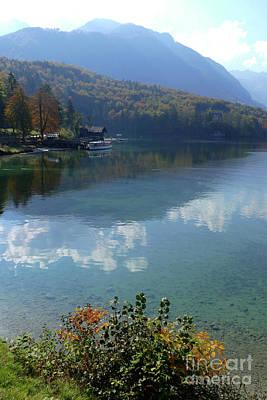 Photograph - Autumn At Lake Bohinj by Phil Banks