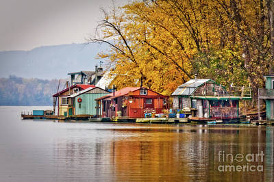Photograph - Autumn At Latsch Island by Kari Yearous