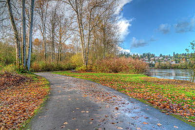 Photograph - Autumn At Rotary Park by Spencer McDonald