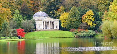 Photograph - Autumn At Stourhead by Colin Rayner