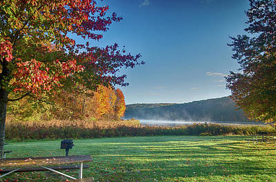 Photograph - Autumn At The Lake by Crystal Wightman