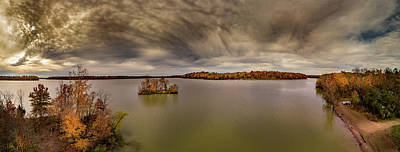 Photograph - Autumn At The Lake by Nick Smith