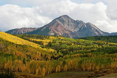 Photograph - Autumn At Wilson Peak by Cascade Colors