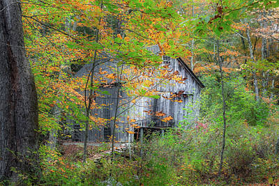 Photograph - Autumn Barn 2018 by Bill Wakeley