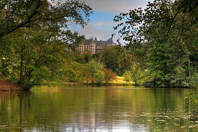 Photograph - Autumn Begins From The Biltmore Lagoon by Carol Montoya