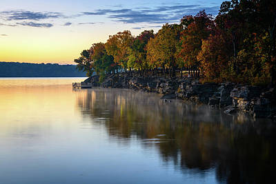 Photograph - Autumn Bluffs by Michael Scott
