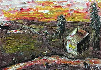 Landscape Painting - Autumn by Christo Botha