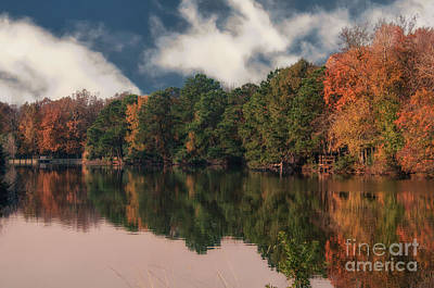 Photograph - Autumn Colors In Charleston by Dale Powell