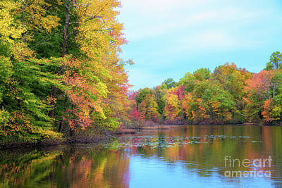 Photograph - Autumn Colors In Nj  by Michael Ver Sprill