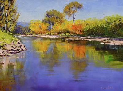 Coy Fish Michael Creese Paintings - Autumn Colours Tumut by Graham Gercken