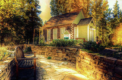 Photograph - Autumn Cottage by Pete Hunt