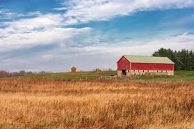 Photograph - Autumn Dairy Barn by Todd Klassy