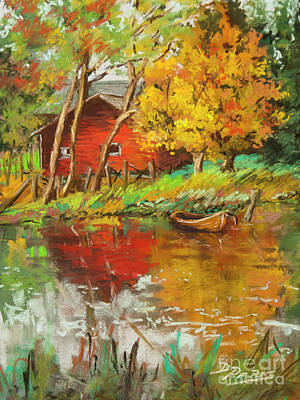 Painting - Autumn Dreams  by Dianne Parks