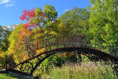 Photograph - Autumn Footbridge by Luke Moore