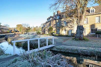 Photograph - Autumn Frost In Lower Slaughter In November by Tim Gainey