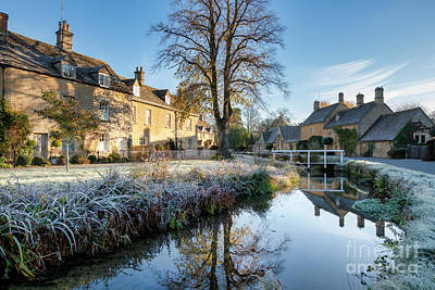 Photograph - Autumn Frost In Lower Slaughter by Tim Gainey