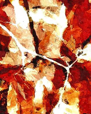 Mixed Media - Autumn Fusion by Patricia Strand