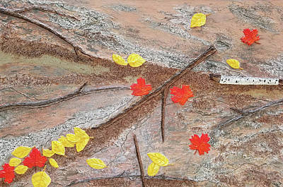 Mixed Media - Autumn Gathering by Michelle Vyn