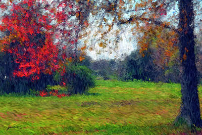 Painting - Autumn by Gerlinde Keating - Galleria GK Keating Associates Inc