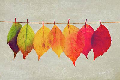 Wall Art - Mixed Media - Autumn Glory by Amanda Lakey