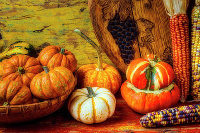 Photograph - Autumn Harvest Collection by Garry Gay