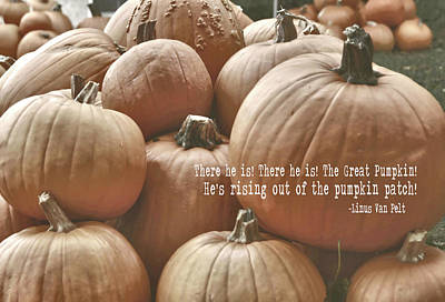 Linus Wall Art - Photograph - Autumn Harvest Quote by JAMART Photography