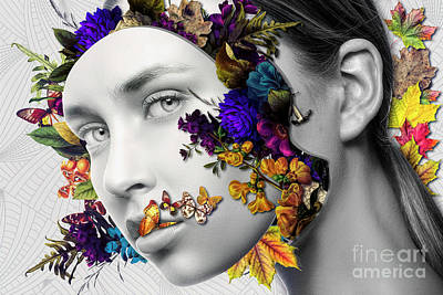 Erik Brede Rights Managed Images - Autumn Head Royalty-Free Image by Erik Brede