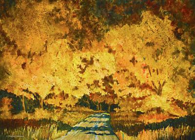 Clouds - Autumn Impression by Douglas Castleman