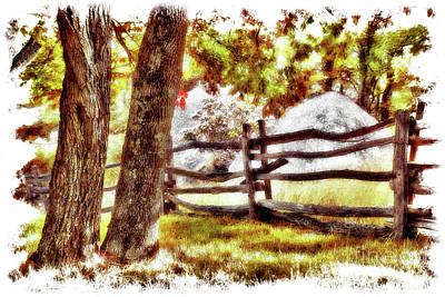 Painting - Autumn In Doughton Ap by Dan Carmichael