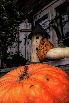 Photograph - Autumn In Marblehead Massachusetts by Jeff Folger