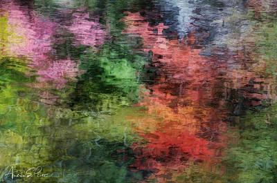 Photograph - Autumn Lake Reflections by Andrea Platt