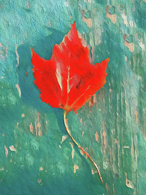 Painting - Autumn Maple by Dan Sproul