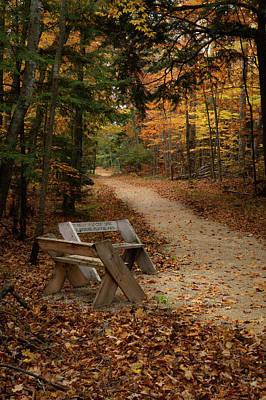 Photograph - Autumn Meetup by David Heilman