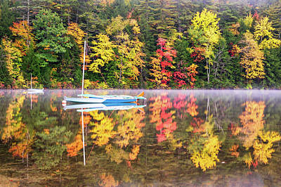 Photograph - Autumn Mist by Michael Blanchette