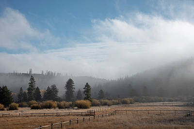 Photograph - Autumn Morning At The Ranch by Brian Stricker