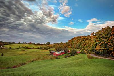 Photograph - Autumn Morning On Jenne Farm by Rick Berk