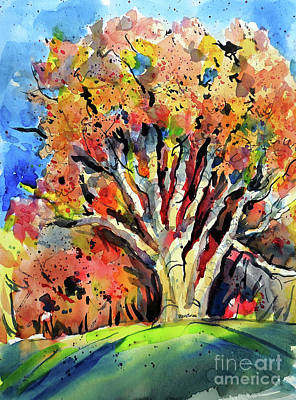 Painting - Autumn Oak by Terry Banderas