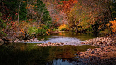 Photograph - Autumn On Brushy Creek by Allin Sorenson