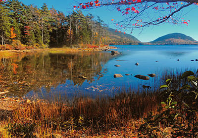 Photograph - Autumn On Eagle Lake by Paul Mangold