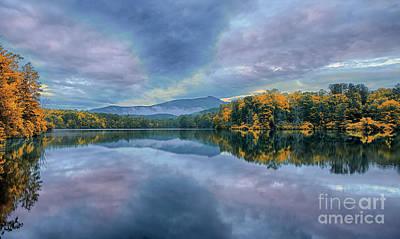 Photograph - Autumn On Price Lake by Dan Carmichael